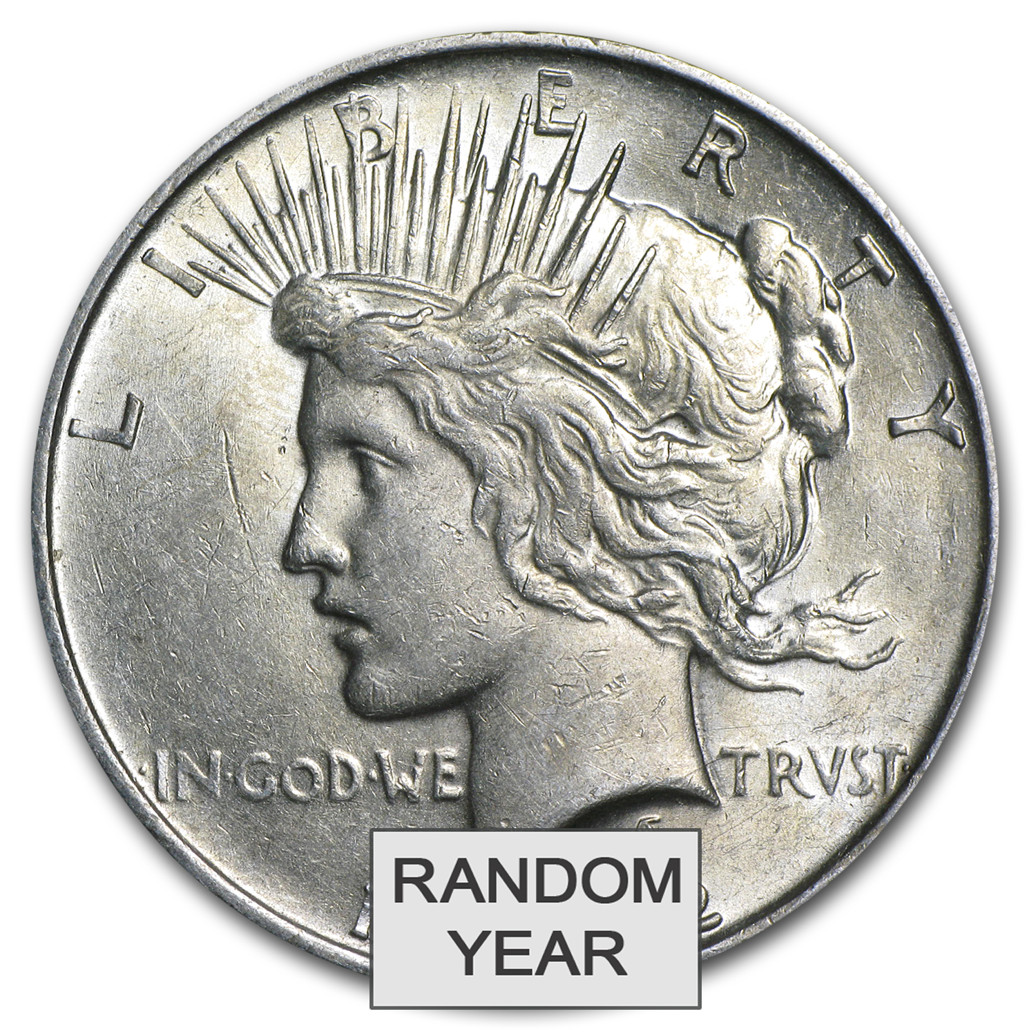 1922-1935 Peace Silver Dollars (Almost Uncirculated)